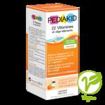 Acheter Pédiakid 22 Vitamines et Oligo-Eléments Sirop abricot orange 125ml à SAINT-GERMAIN-DU-PUY