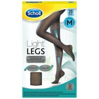 Scholl Light Legs™ Collants 20D Noir M à SAINT-GERMAIN-DU-PUY