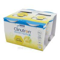 Clinutren Dessert 2.0 Kcal Nutriment Vanille 4cups/200g à SAINT-GERMAIN-DU-PUY