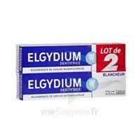 Elgydium Dentifrice Duo Blancheur Tube 2x75ml