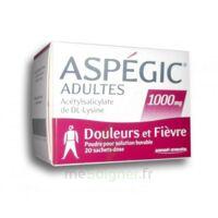 ASPEGIC ADULTES 1000 mg, poudre pour solution buvable en sachet-dose 20 à SAINT-GERMAIN-DU-PUY
