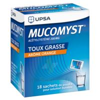 Mucomyst 200 Mg Poudre Pour Solution Buvable En Sachet B/18 à SAINT-GERMAIN-DU-PUY