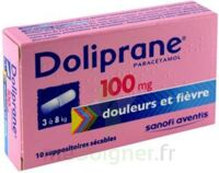 DOLIPRANE 100 mg Suppositoires sécables 2Plq/5 (10) à SAINT-GERMAIN-DU-PUY