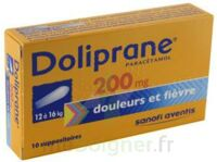 Doliprane 200 Mg Suppositoires 2plq/5 (10) à SAINT-GERMAIN-DU-PUY