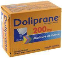 DOLIPRANE 200 mg Poudre pour solution buvable en sachet-dose B/12 à SAINT-GERMAIN-DU-PUY