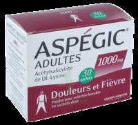 ASPEGIC ADULTES 1000 mg, poudre pour solution buvable en sachet-dose 30 à SAINT-GERMAIN-DU-PUY