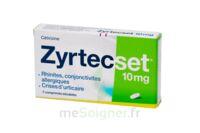 ZYRTECSET 10 mg, comprimé pelliculé sécable à SAINT-GERMAIN-DU-PUY
