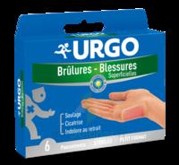 URGO BRULURES-BLESSURES PETIT FORMAT x 6 à SAINT-GERMAIN-DU-PUY