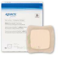 Aquacel Foam Pansement Hydrocellulaire AdhÉsif StÉrile 10x20cm B/10 à SAINT-GERMAIN-DU-PUY
