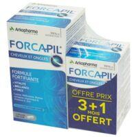 Forcapil Gélules croissance vitalité cheveux ongles B/180+60 à SAINT-GERMAIN-DU-PUY