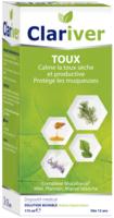 Clariver Solution Buvable Toux Sèche Et Productive Adulte Fl/175ml à SAINT-GERMAIN-DU-PUY