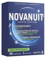 Novanuit Triple Action Comprimés B/30 à SAINT-GERMAIN-DU-PUY