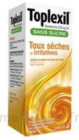 TOPLEXIL 0,33 mg/ml sans sucre solution buvable 150ml à SAINT-GERMAIN-DU-PUY