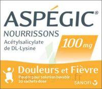 ASPEGIC NOURRISSONS 100 mg, poudre pour solution buvable en sachet-dose à SAINT-GERMAIN-DU-PUY