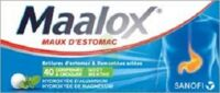 MAALOX HYDROXYDE D'ALUMINIUM/HYDROXYDE DE MAGNESIUM 400 mg/400 mg Cpr à croquer maux d'estomac Plq/40 à SAINT-GERMAIN-DU-PUY