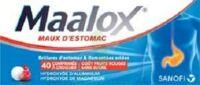 Maalox Maux D'estomac Hydroxyde D'aluminium/hydroxyde De Magnesium 400 Mg/400 Mg Sans Sucre Fruits Rouges, Comprimé à Croquer édulcoré à La Saccharine Sodique, Au Sorbitol Et Au Maltitol à SAINT-GERMAIN-DU-PUY