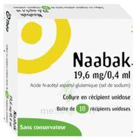 NAABAK 19,6 mg/0,4 ml Collyre en récipient unidose 10Unidoses à SAINT-GERMAIN-DU-PUY