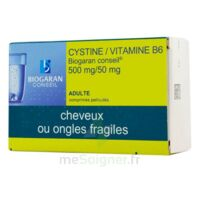 Cystine/vitamine B6 Biogaran Conseil 500 Mg/50 Mg Cpr Pell Plq/120 à SAINT-GERMAIN-DU-PUY