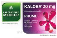 KALOBA 20 mg Comprimé pelliculé Plq/21 à SAINT-GERMAIN-DU-PUY