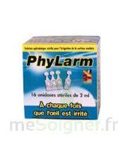 PHYLARM, unidose 2 ml, bt 16 à SAINT-GERMAIN-DU-PUY
