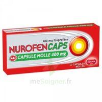 NUROFENCAPS 400 mg Caps molle Plq/10 à SAINT-GERMAIN-DU-PUY