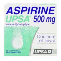ASPIRINE UPSA 500 mg, comprimé effervescent à SAINT-GERMAIN-DU-PUY