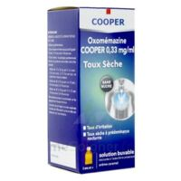 OXOMEMAZINE H3 SANTE 0,33 mg/ml SANS SUCRE, solution buvable édulcorée à l'acésulfame potassique à SAINT-GERMAIN-DU-PUY