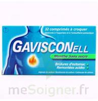 Gavisconell Coprimés à Croquer Sans Sucre Menthe édulcoré à L'aspartam Et à L'acésulfame Potas Plq/24 à SAINT-GERMAIN-DU-PUY