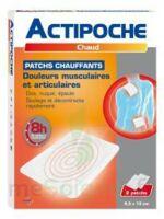 Actipoche Patch chauffant douleurs musculaires B/2 à SAINT-GERMAIN-DU-PUY