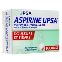 ASPIRINE UPSA TAMPONNEE EFFERVESCENTE 1000 mg, comprimé effervescent à SAINT-GERMAIN-DU-PUY
