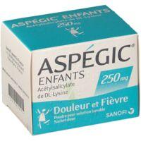 ASPEGIC ENFANTS 250, poudre pour solution buvable en sachet-dose à SAINT-GERMAIN-DU-PUY