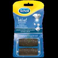 Scholl Velvet Smooth Rouleaux De Remplacement  Grain Extra Exfoliant à SAINT-GERMAIN-DU-PUY