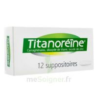 TITANOREINE Suppositoires B/12 à SAINT-GERMAIN-DU-PUY