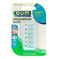 GUM PROXABRUSH CLICK, 1,6 mm, bleu , blister 6 à SAINT-GERMAIN-DU-PUY