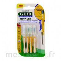 Gum Trav - Ler, 1,3 Mm, Manche Jaune , Blister 4 à SAINT-GERMAIN-DU-PUY