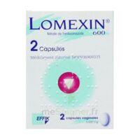 Lomexin 600 Mg Caps Molle Vaginale Plq/2 à SAINT-GERMAIN-DU-PUY