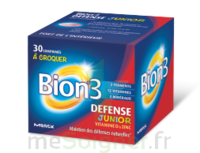 Bion 3 Défense Junior Comprimés à croquer framboise B/30 à SAINT-GERMAIN-DU-PUY