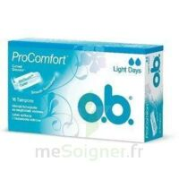 OB PRO COMFORT, light Flow , bt 16 à SAINT-GERMAIN-DU-PUY