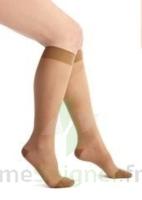 Thuasne Venoflex Secret 2 Chaussette femme beige doré T4L à SAINT-GERMAIN-DU-PUY