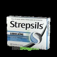 Strepsils lidocaïne Pastilles Plq/24 à SAINT-GERMAIN-DU-PUY