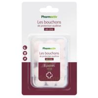 Pharmactiv Bouchon D'oreille Protection B/8 à SAINT-GERMAIN-DU-PUY