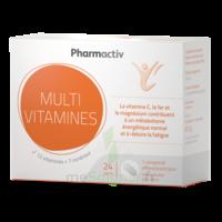 Pharmactiv Multivitamines Cpr eff B/24 à SAINT-GERMAIN-DU-PUY