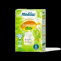 Modilac Céréales Farine 5 Céréales bio à partir de 6 mois B/230g à SAINT-GERMAIN-DU-PUY