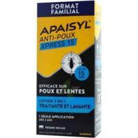 Apaisyl Anti-poux Xpress Lotion antipoux et lente 200ml+loupe à SAINT-GERMAIN-DU-PUY