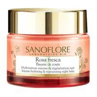 Sanoflore Rosa Fresca Baume de rosée nuit Pot/50ml à SAINT-GERMAIN-DU-PUY