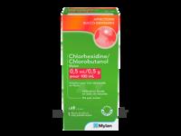 Chlorhexidine/chlorobutanol Mylan 0,5 Ml/0,5 G Pour 100 Ml, Solution Pour Bain De Bouche En Flacon à SAINT-GERMAIN-DU-PUY