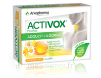Activox Sans Sucre Pastilles Miel Citron B/24 à SAINT-GERMAIN-DU-PUY