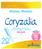 Boiron Coryzalia Solution buvable unidose B/20 à SAINT-GERMAIN-DU-PUY