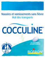Boiron Cocculine Comprimés Orodispersibles B/40 à SAINT-GERMAIN-DU-PUY